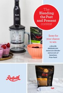 Redpath Sugar – Win a Blender prize pack