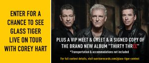 Sunrise Records – Win a VIP Meet & Greet prize package