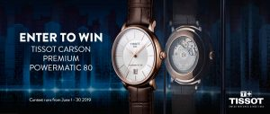 Ann-Louise Jewellers – Win a Tissot Carson Premium Automatic watch