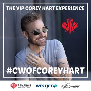 Canada's Walk of Fame – Win a trip for 2 Calgary PLUS 2 front-row tickets to the Event and more
