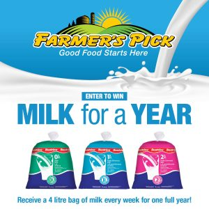 Farmer's Pick – Win Milk for a Year