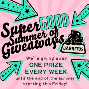 Jarritos – Win 1 of 12 weekly prizes