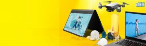 Lenovo – Win a grand prize of a Yoga C930 OR a ThinkPad X1 Carbon OR other instant win prizes