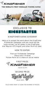 Point 65 – Win a KingFisher Kayak OR minor prizes