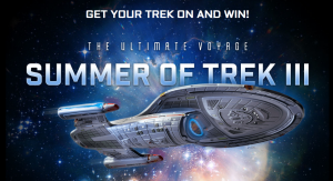 Simon & Schuster – Summer of Trek 2019 – Win a grand prize of a cruise for 2 on Star Trek OR many other minor prizes