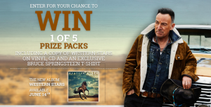 Sony Music Entertainment Canada – Win 1 of 5 prize packs