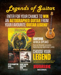 Sunrise Records – Win an autographed guitar