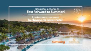 Sunwing Vacations – Win a trip for 2 to Cancun
