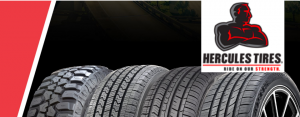 The Hercules Tire & Rubber – Win monthly prizes of a set of 4 Hercules brand tires