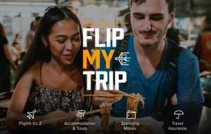 World Nomads – Flip My Trip – Win 1 of 3 trips for 2