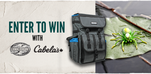 Cabela's – Win a prize package valued at $241
