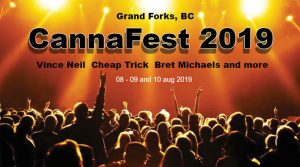 My Creston Now – Win 2 passes to Cannafest 2019 PLUS 3-night camping and more