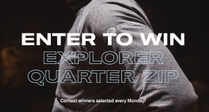 OROS – Win an Explorer Quarter Zip