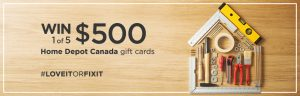 RateSupermarket – Win 1 of 5 Home Depot gift cards