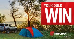 Tirecraft – Win a $1,000 voucher