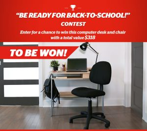 Brault & Martineau – Win a computer desk and a chair