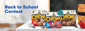 Tasty Rewards – Back to School – Win a $1,000 cash prize