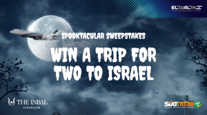 EL AL Israel Airlines USA – Win a trip for 2 to Israel PLUS a 5-night stay at the Inbal Jerusalem Hotel