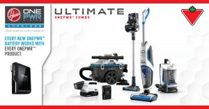 Hoover Canada – Win a Hoover OnePWR
