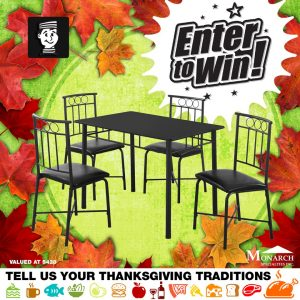 Lastmans's Bad Boy – Win a Monarch dining set