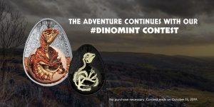 Royal Canadian Mint – Win a Hatching Hadrosaur coin