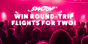 Swoop – Win a trip for 2 to any destination operated by Swoop