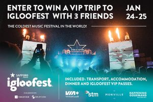 Exclaim – Win a trip for 4 to Igloofest in Montreal