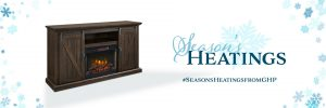 GHP Group – Win the Langdon 58″ Media Electric Fireplace