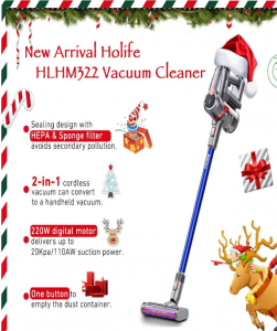 Holife – Win a Stick Cordless Vacuum Cleaner