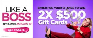 Landmark Cinemas – Win 2 gift cards valued at $500 each