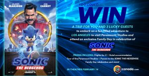 Postmedia – Win a trip for 2 to Los Angeles
