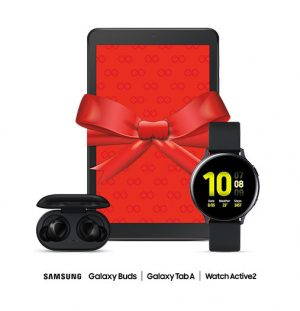 Rogers – Win 1 of 10 prize packs of a Samsung Galaxy Tab A 8.0 + Samsung Galaxy Watch Active2 + Samsung Galaxy Buds each