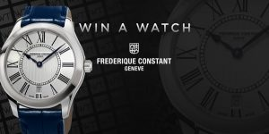 WorldTempus – Win a Frederique Constant Ladies Classics Quartz watch