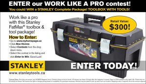 Homes Magazine – Win a Stanley Complete package