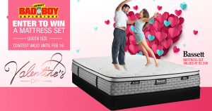 Lastman's Bad Boy – Win a Bassett Mattress Set