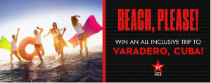 99.9 Virgin Radio – Win a trip for 2 to Varadero, Cuba