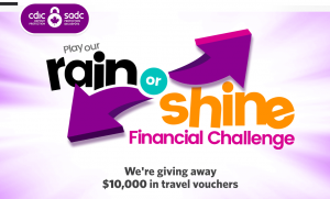 Canadian Deposit Insurance Corporation – Win a major prize of a $5,000 CAD travel voucher OR 1 of 2 minor prizes