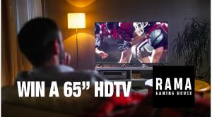 Rama Gaming House – Win 1 of 2 HD TVs 65″