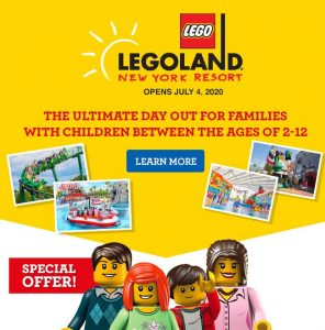 ToysRus Canada – Win a trip for 4 to the Legoland New York Resort