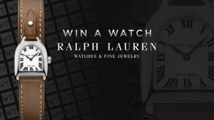 WorldTempus – Win a Ralph Lauren Stirrup Mini Steel watch valued at $CHF 2,150