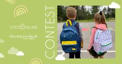 Win Deux par Deux Backpack + $200 Gift Card Contest