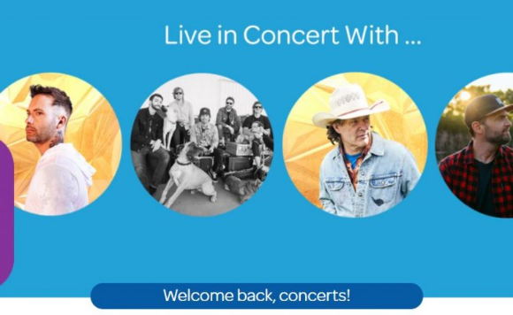 Air Miles Concerts 2020 – Win tickets to 1 of 4 exclusive concerts