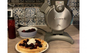 Best Buy  – Win 1 of 2 Cuisinart Vertical Waffle Makers