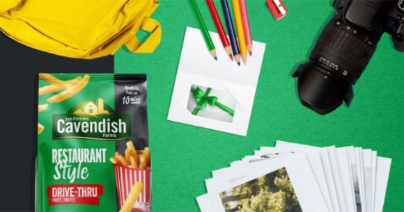 Cavendish Farms Back to School  – Win a prize pack valued at $900