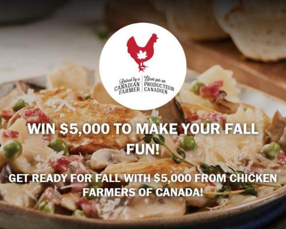 Chicken.ca Fall 2020  – Win $5,000 cash