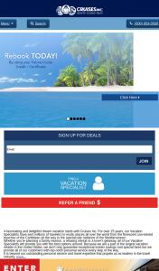 Cruises Inc – Win a Bahamas Cruise for 2