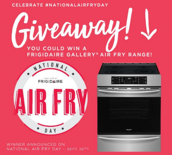 Frigidaire  – Win a Frigidaire Range with Air Fry Technology