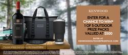 Kenwood Vineyards – Win 1 of 5 Yeti Coolers Contest