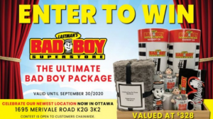 Lastman's Bad Boy  – Win the Ultimate Bad Boy Package valued at $328