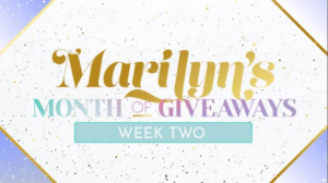Marilyn Denis Season 11 Month of Giveaways Week 2 – Win 1 of 3 prize packs worth over $1800 at www.marilyn.ca